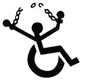 wheelchair broken chains